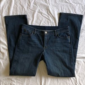 Wrangler Jeans Q-Baby Waistband 15/16x36 EUC